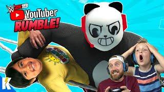 Gambar cover Youtubers Royal Rumble 2 in WWE 2k19 (RYAN TOYSREVIEW and COMBO PANDA) | KIDCITY GAMING