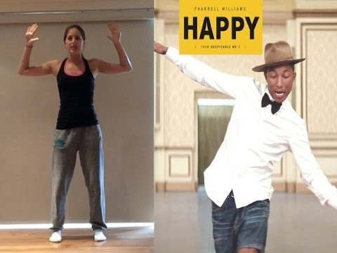 Pharrell Williams 'HAPPY' Dance Tutorial