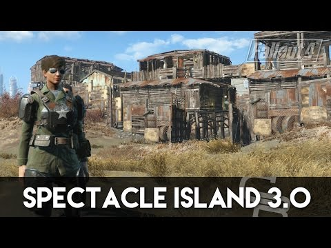 Fallout 4 - Spectacle Island 3.0 (Fallout 4 Settlement Tour)