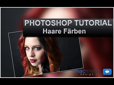 Photoshop Tutorial - Haare Färben - (Anleitung, Deutsch, HD) thumbnail