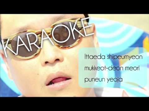 Gangnam Style - PSY ( KARAOKE - LYRICS - INSTRUMENTAL )