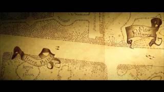 Mapa do Maroto  (Marauder's Map)   Harry Potter & the Prisoner of Azkaban