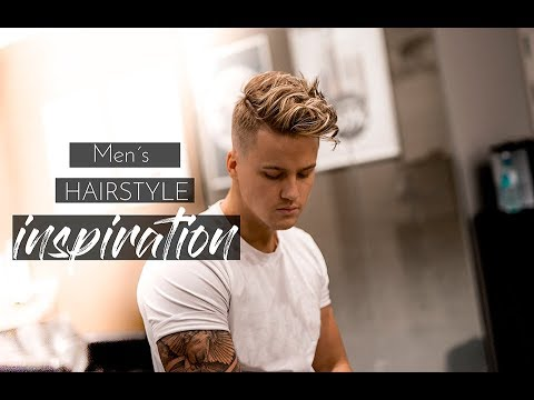 Men´s Hairstyle inspiration 2018   Messy Beach Waves Hair Tutorial #New 2018