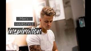 Men´s Hairstyle inspiration 2018 | Messy Beach Waves Hair Tutorial #New 2018