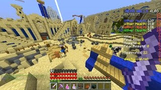 minecraft 100 player mega walls 27 with vikkstar preston jerome