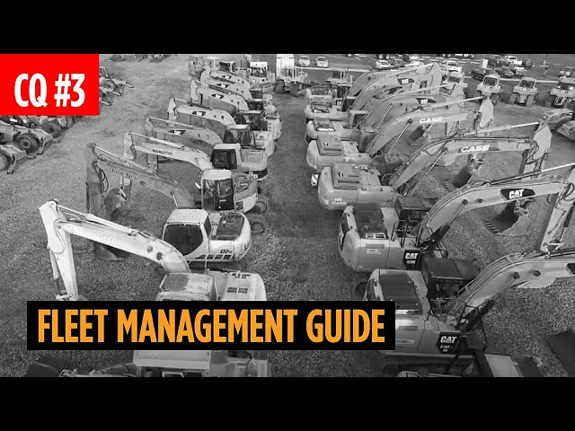 Fleet Management Guide for Heavy Construction Equipment and Trucks
