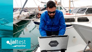 JALTEST CASE STUDY | How to perform an acceleration test in Volvo Penta IPS 500 inboard engines