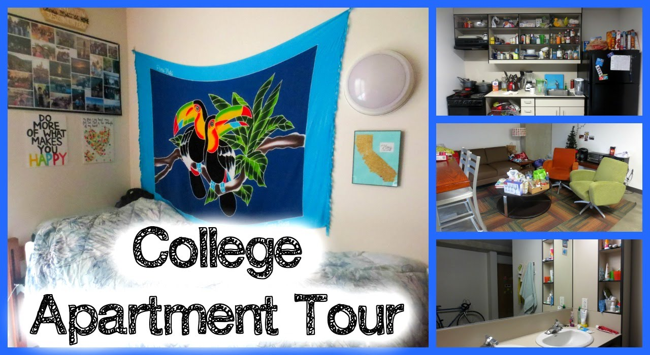 College Apartment Tour! (UCSD) | ALJOing - YouTube