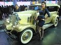 Chevrolet 1933 Master Eagle Phaeton | Chevrolet History in India at 2014 Auto Expo Greater Noida