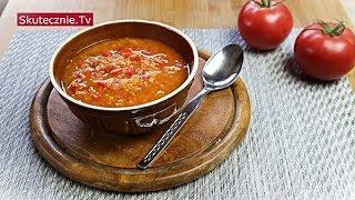 Zupa pomidorowa z soczewicą, papryką, imbirem i czosnkiem :: Skutecznie.Tv