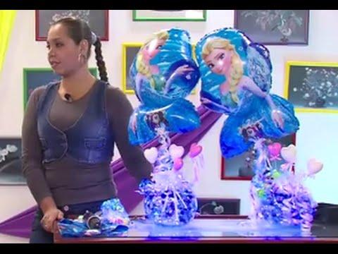 globoflexia como hacer un centro de mesa con globos hogar tv por juan gonzalo angel youtube