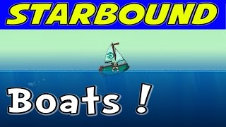 Starbound - Boats! Oceans! Mocaccino! (1080p/60)