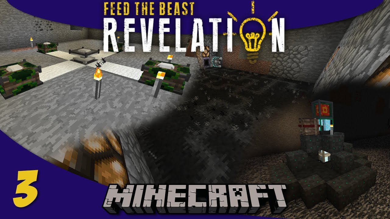 Flux Infused Armor, Void Ore Miner, Empowerer - 1 12 Modded Minecraft FTB  Revelation SMP : E03