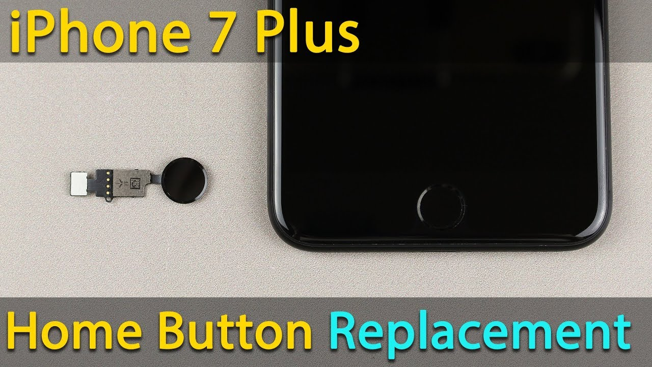 Photo of iPhone 7 Plus home button replacement – شركة ابل