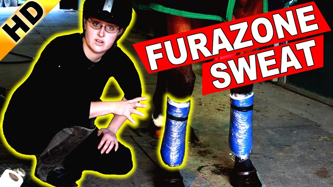 How To Apply A FURAZONE Sweat, DMSO Leg Sweat
