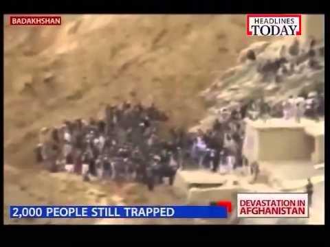Afghanistan landslide: 350 killed, 1000 feared missing