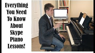 Do Skype Piano Lessons ACTUALLY Work?? Josh Wright Piano TV