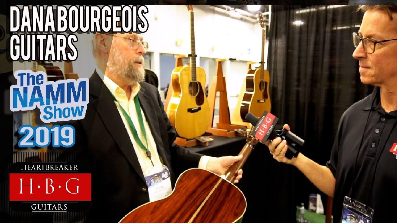 Dana Bourgeois Guitars NAMM 2019 Interview with Dana