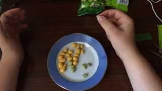 Странный арахис из Польши! С луком и васаби тест, мнение