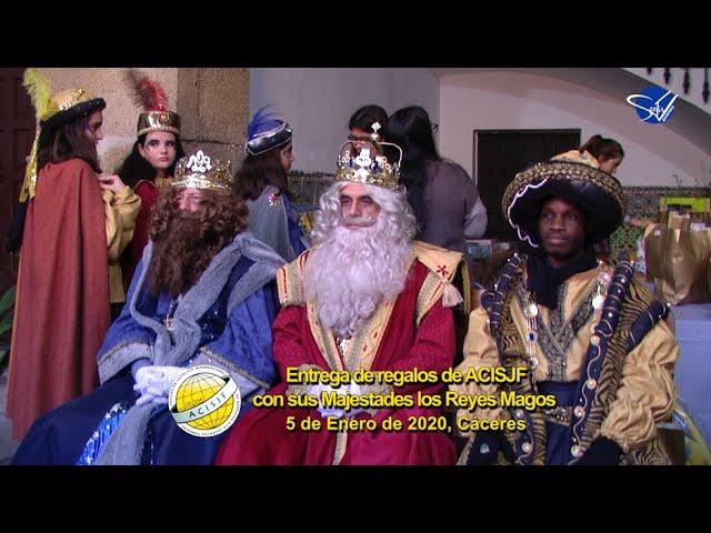ACISJF Cáceres - Reyes Magos, Entrega de Regalos 2020