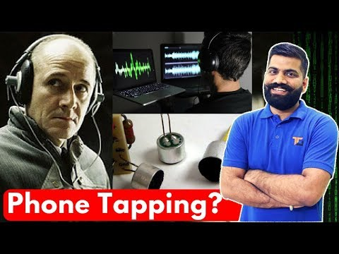 How Phone Wiretapping Works? Mobile Phone Tapping? Mp3