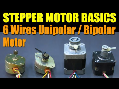 How A Stepper Motor Works By Phidgets Doovi
