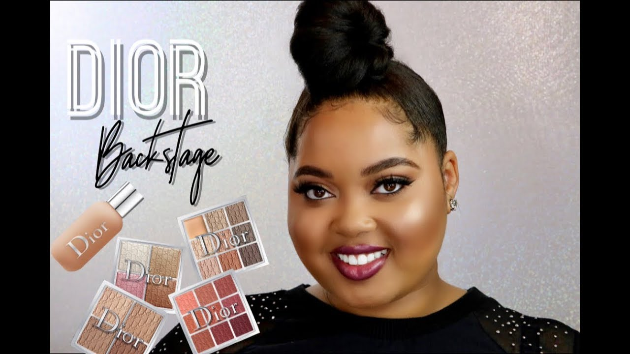 NEW Dior Backstage Collection Review | Foundation, Contour ...