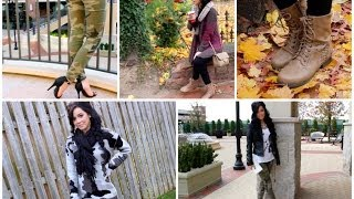 3 FALL OUTFITS!