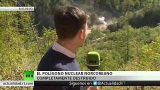 Exclusivo: RT graba la destrucción del polígono nuclear de Corea del Norte