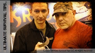 NEW! Self Defense Tools & Tips - with Louis Krudo & David - Krudo Snag and Nano - Blade Show 2013