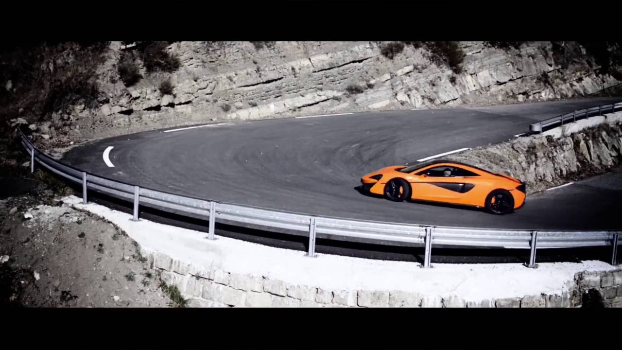 McLaren 570S - extended TV advert