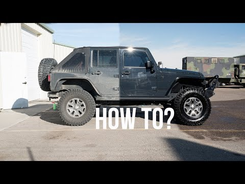 EASY: HOW TO EXTREMELY CLEAN YOUR JEEP WRANGLER OR ANY CAR! Step by Step