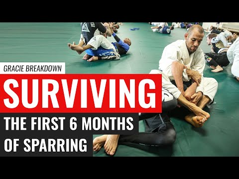 Surviving the First 6 Months of Sparring (Gracie Breakdown)