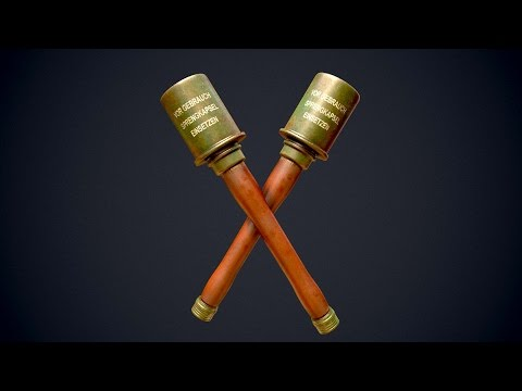 Game Asset Tutorial Part 1 | Highpoly & Lowpoly + UV | 3ds M