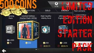 EA SPORTS UFC Mobile - Limited Edition Starter Pack Opening!