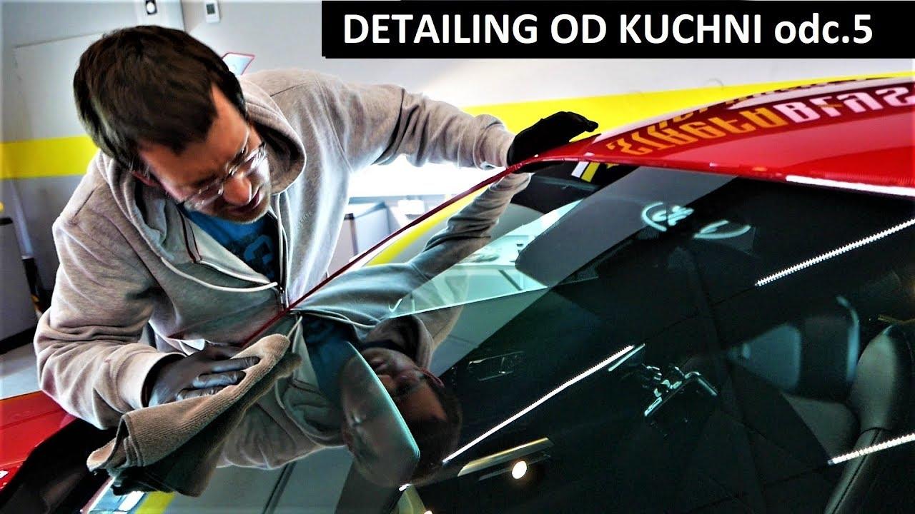 DETAILING OD KUCHNI – odc.5 NIEWIDZIALNA WYCIERACZKA & POWŁOKA CERAMICZNA – Ford Mustang GT V8 VLOG