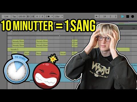 LAVER ET BEAT PÅ 10 MINUTTER (WILF RAPPER🤣) - PELSHAT PRODUCERER