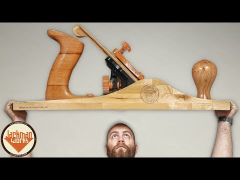 Building a Giant Hand Plane (that actually makes shavings!)