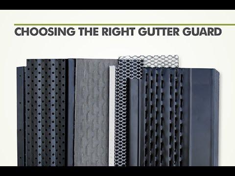 Choosing the Right Gutter Guard | Senox