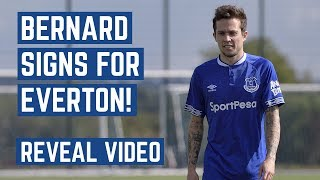 BERNARD SIGNS FOR EVERTON! | REVEAL VIDEO