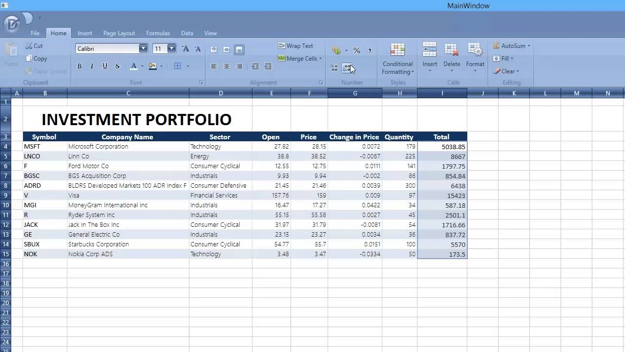 Devexpress Wpf Getting Started With The Spreadsheet