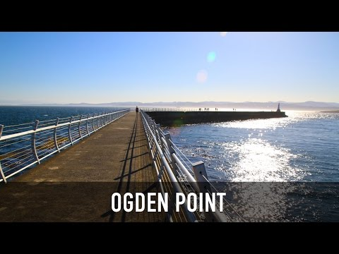 Ogden Point Breakwater in Victoria, BC