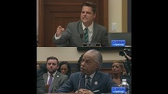 Exchange between Rep. Matt Gaetz and Reverend Al Sharpton
