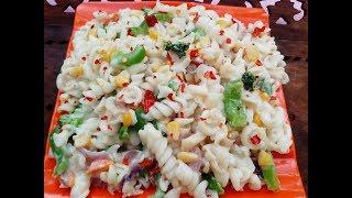 white sauce pasta in tamil/Pasta in white sauce/pasta recipe in white sauce