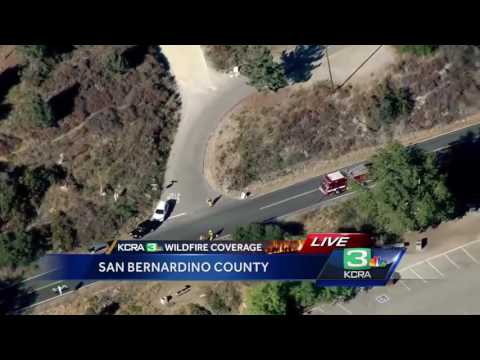Cal Fire gives insight on San Bernardino Co. wildfire