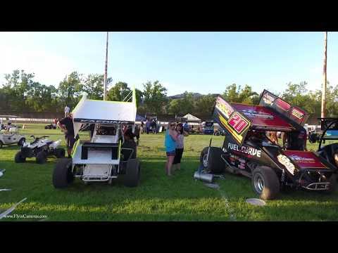 Calistoga Speedway Dirt Classic 2017 Highlights