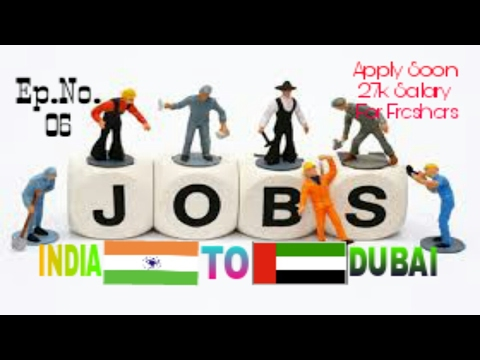 New Job For Freshers At Dubai, Salary 27000 Rupees For Freshers Apply Soon And Fast Feb 2017