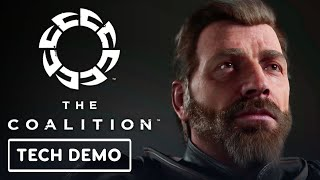 The Coalition - Character Render Test on Unreal Engine 5 Tech Demo