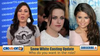 Http://facebook.com/clevvertv - become a fan! http://twitter.com/clevvertv follow us! if you thought kristen stewart was shoe-in for the role of snow whi...