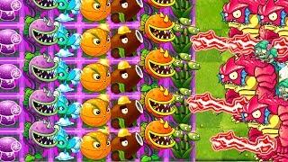 Max Level vs Hard Level Plants vs Zombies 0 MOD